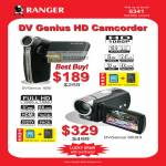 DV Genius HD Camcorder 1000 6000X