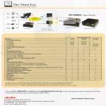 The Third Eye Video Servers NV-4000S Specifications Comparison Table