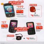 Mobile Prepaid 3G Handset Bundles 2G Nokia 7230 1661 Motorola WX395