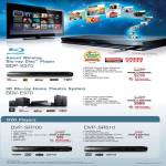 Blu Ray Disc Player BDP-S370 Home Theatre System BDV-E370 DVD DVP-SR700 DVP-SR510