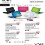Vaio Notebooks E Series VPCEB37FG VPCEA45FG VPCEA36FG VPCEB45FG