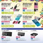 Walkman B E S Series NWZ-B152F E053 E454 E453 S754 Docks IPod IPhone RDP XF100IP ICF-DS11IP C05IP