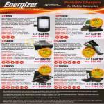 Energizer Portable Chargers AP650 XP1000 XP4001 XP4000 XP8000 XP18000