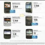 Business Mobile Phones Blackberry Torch 9800 Nokia E7 Bold 9780 E72 Curve 9300 E5
