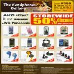 AKG Urbanz ILuv Shure JVC Panasonic HA-FX77 FX34 Marshmallow L50 F1 NCX77 FX66 RX700 RX300 F140 F240 SE102 SE115