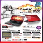 Notebooks Gaming Qosmio F500 D831 BD834 F60 BD539 BD540 BD545