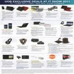 Credit Card Exclusive Deals Acer Fujitsu HP Lenovo Toshiba Dell Fuji Xerox ASUS OSIM Lexmark Ban Leong Aztech Belkin