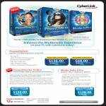 Cyberlink PowerDirector 9 Ultra PowerDVD 10 Media Suite 8 Pro