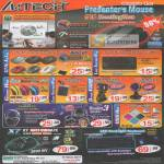 A4Tech Mouse G10 G7CR-80 G7T-60 KL-5 GlassRun Q3 Q3310 TK-5 PK-33E Webcam PKS-732K HU-200 HSB-100U HUB-56 X7