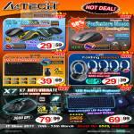 A4Tech Mouse Keyboard G9 350 G10 G7 L-600 Headset X7 Laser LED Backlight Keyboard KL-126