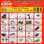 Worldwide Computer Accessories Screen Guard Skin Card Reader Notebook USB Bluetooth SIM Card