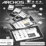 Archos Internet Tablet 28 32 43 70 10i Android 2.2 Froyo