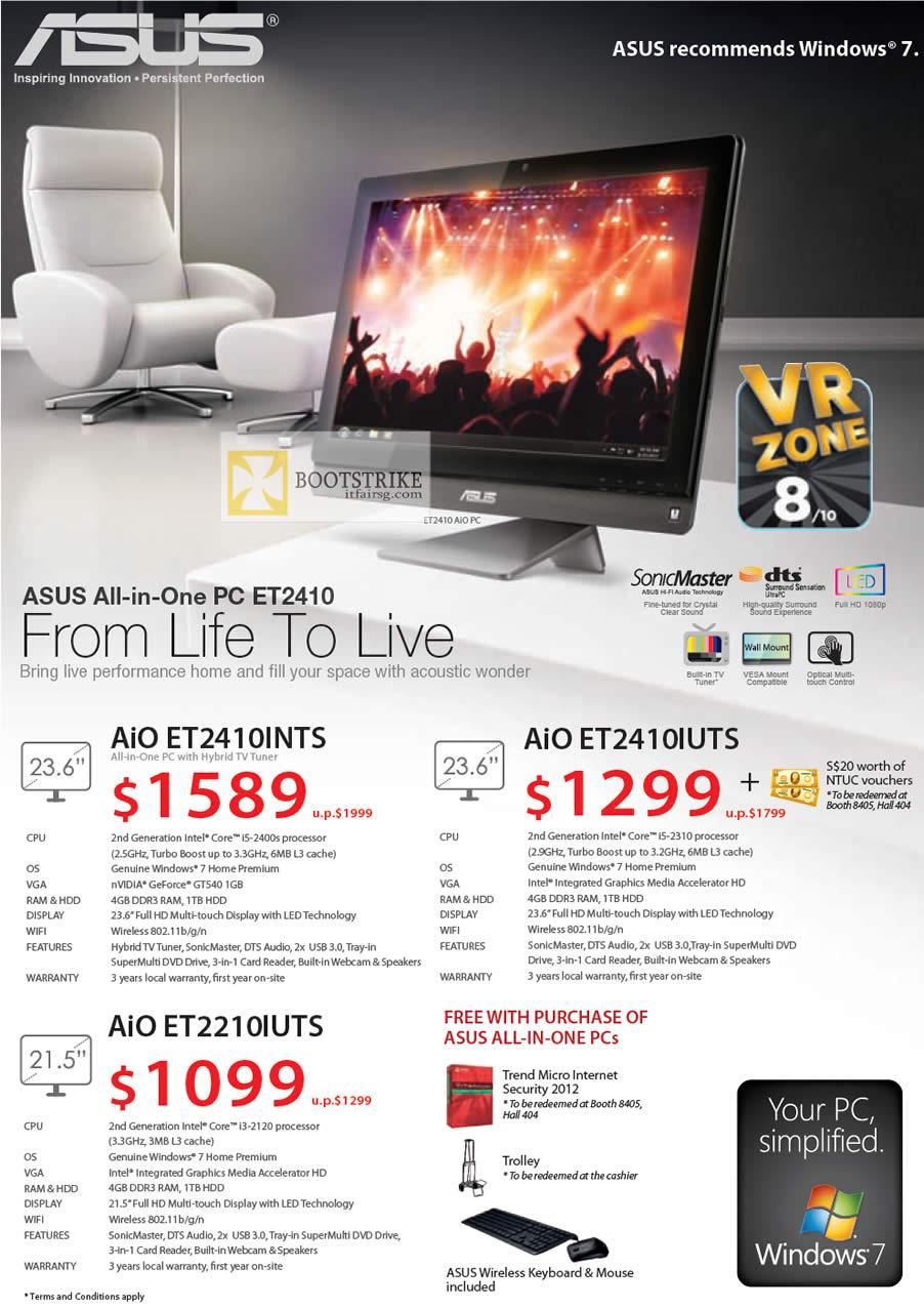 IT SHOW 2012 price list image brochure of ASUS AIO Desktop PC ET2410INTS, ET2410IUTS, ET2210IUTS