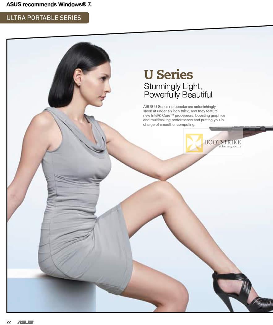 IT SHOW 2012 price list image brochure of ASUS Notebooks U Series