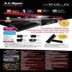 Veolo Smart Android Hub Android Media Player, Specifications