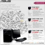 Desktop PC CM1831, CM1740-A4, CM1740-A8