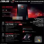Desktop PC ROG CG8565 Extreme, ROG CG8565 I7