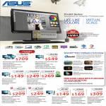 Monitors ProArt LED IPS, PA246Q, VK278Q, VS198N, VS229H-P, VS239H-P, ML229H, ML239H, VE198T, VE208T, VE248H