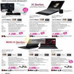 Notebooks N45SL-VX021V Jay Chou Mystic Edition, N45SL-VX023V, N55SL-S1091V, ROG G G53SX-IX181V, G73SW-TZ081V, G74SX-91232V