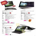 Notebooks Tablets Eee Pad Transformer TF101-16, Transformer Prime TF201-32, TF101G-32, Eee Pad Slider SL101-16