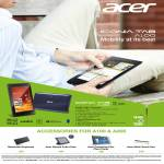 Tablet Iconia Tab A100, Android, Accessories