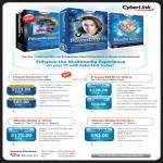 Version 2 CyberLink Software PowerDirector 10, PowerDVD 11 Ultra, Media Suite 9 Ultra, Media Suite 9 Centra