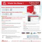 Avira Antivirus Premium 2012, Avira Internet Security 2012 Software