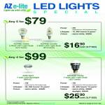 LED Light Bulb, Globe, Azpire Candle, Azis Sport, Azcend Globe