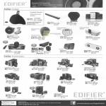 Edifier Speakers I-F600, E20, MF240, I-F500, I-F360fm, MP300 Plus Aurora, I-F350, S530D, S550, S730, M1335, C3, C11, M2300