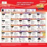 Printers Inkjet MP287, MG3170, MG4170, MG5370, MG6270, MG2170, MX366, MX416, MX426, Lide Scanners 110, 210, 700F, CS 5600F, CS9000F