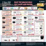 Printers Laser LBP6000, LBP6200d, LBP6300dn, LBP3500, ImageClass MF3010, MF4420w, MF4450, MF4550d