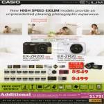 Digital Cameras Exilim EX-ZR200, EX-ZR20