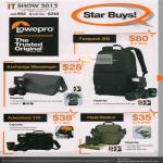 Lowepro Bags Fastpack 200, Exchange Messenger, Adeventura 170, Field Station