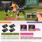 Kingmax Flash Memory Card MicroSD, SDHC