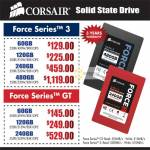 Corsair SSD Storage Force Series 3, Force Series GT
