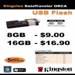 Kingston DataTraveler Orca USB Flash Drive