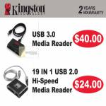 Kingston USB3 Media Reader, 19 In 1 Card Media Reader