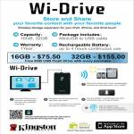 Kingston Wi Drive Wireless Storage