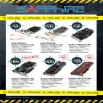 Sapphire Video Graphic Cards Radeon HD5450, HD6670, HD6770, HD6850, HD7950, HD7970