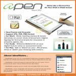 Apen Smart Pen IPad, IPad2, IdealNotes