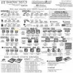 Flash Memory USB, Sandisk Cruzer Blade, Cruzer Edge, Ultra, Kingston, MicroSD, SDHC, Corsair SSD, ForceGT, OCZ Vertex2, Agility3, Kingston V 200, Crucial M4