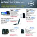 Desktop PC Inspiron 620, XPS 8300, Inspiron One 2320 AIO Desktop PC, Alienware Aurora, Alienware X51