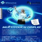 Nteractive Technologies Multitouch Display