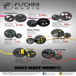 Fischer Audio Earphones Consonance, Eterna V.2, Gloss, Wasp Yellow, Golden Wasp, Paradigm V.3, FA-555, Red Stripe