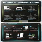 Fida Prolink Bundle Promotions, Powerline, Router HSPA, Wireless, ADSL Ethernet Modem Router, USB, 3G Camera