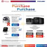 Fida Prolink Iomega Purchase With Purchase PIC1003WP IPCam, PIC1005WN, PIC1005WN, Iomega StorCenter Ix2-200 NAS