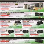 Digital Cameras Finepix F500EXR, F600 EXR, HS20 EXR, HS30EXR, S4000, S2980, SL300, Real 3D W3