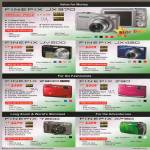 Digital Cameras Finepix JX370, JV200, JX420, Z900, Z90, T200, XP30
