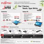 Notebooks Tablet Lifebook Q550 GBWP-30, T901 DB7WP, Accessories