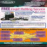 Free Ink Refilling Service